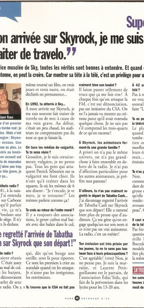 Interview Entrevue